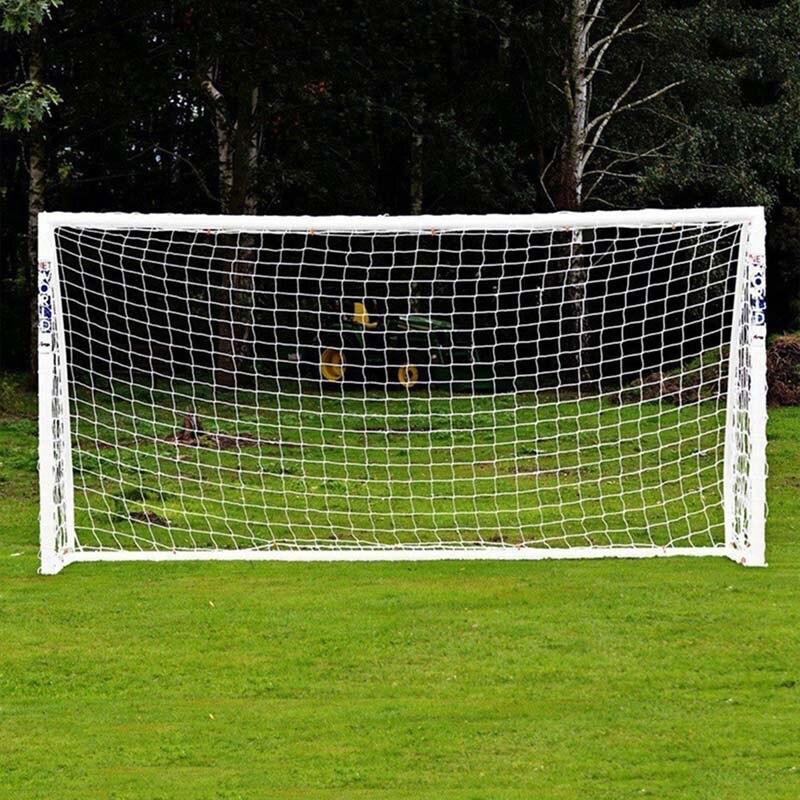 Hot Full Size Football Net for Soccer Goal Post Junior Sports Training 1.8m x 1.2m 3m x 2m Football Net Soccer Net