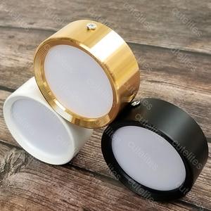 Image 5 - משטח רכוב 12W LED downlight 7W 10w תקרת מנורות Ultra דק ללא נהג cob led ספוט אורות 220V תקרת גופי תאורה