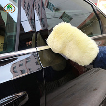 MSJO Car Window Cleaning Glove Wool  Dust Auto Glass Cleaner Household Washable Waterproof Washing Cloth Brush