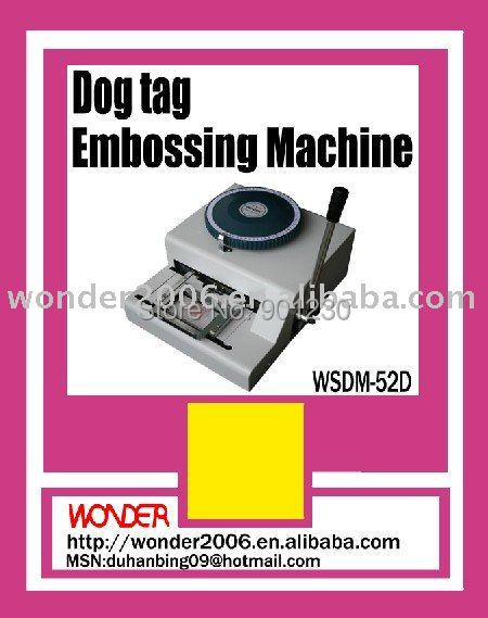 tag embossing machine