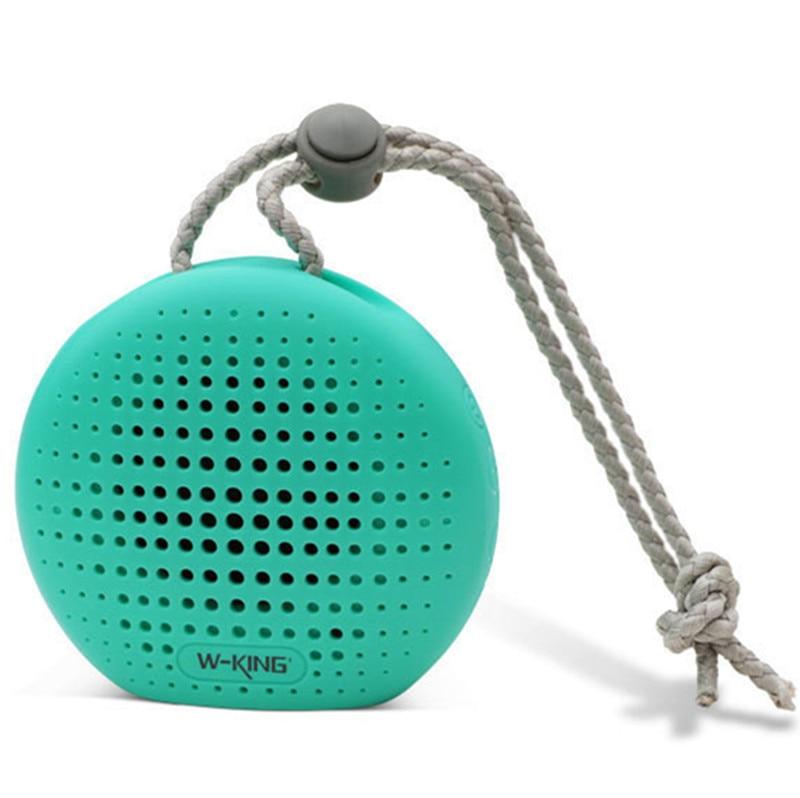 W-KING S4 Waterproof Bluetooth Speaker Outdoor Wireless Music Sound Box Wireless Loudsp With TF/FM/AUX Bath bicycle speaker