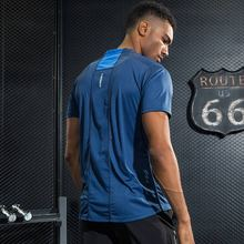 Field Base Fitness T-Shirts Men Quick Dry Fit T shirts Men Mesh Breathable Fitness Bodybuilding High Quality Gyms Tee Top