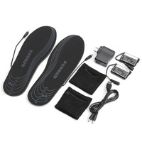 Shoe Pad 3 7V Rechargeable Electric Heated Insoles Keep Foot Warm Water Resistant For Size 38