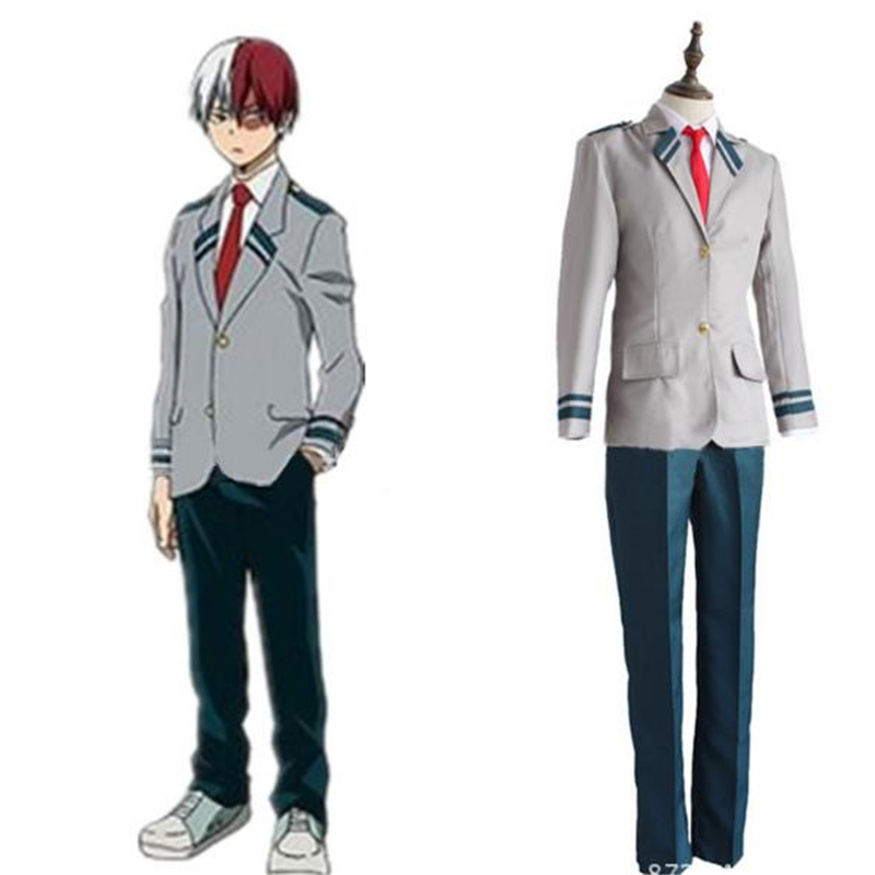 My Hero Academia Cosplay Costume School UniformCosplay Japanese Anime Halloween Uniform Women Men BOOCRE
