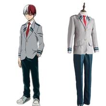My Hero Academia Cosplay Costume School UniformCosplay Japanese Anime Halloween Uniform Women Men BOOCRE