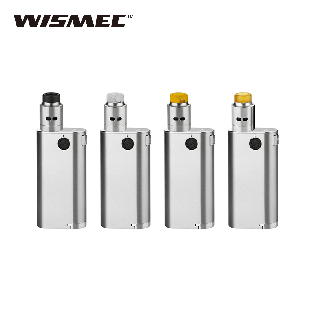 Original WISMEC Noisy Cricket II-25 with Guillotine RDA Kit Noisy Cricket 2 Mod 25mm Diameter Vape E-cigarette Kit No 18650 Cell hd rda with side adjustable airflow for e cigarette