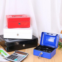 10pcs Lot Colorful Mini Luggage Portable Storage Box Handheld Jewelry Money Organizer Dispenser With Security Locker
