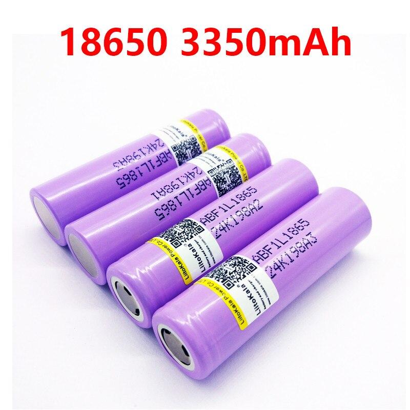 Liitokala Lii-F1L Original 3.6V 18650 INR18650 F1L 3000mah 3350mAh 3400mah 4.2V Cut Off Rechargeable Battery For