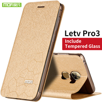 For Letv Pro 3 Mobile Case Mofi Water Cube Design Fit All Around Shock Resistant Leather