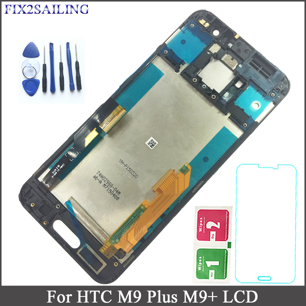 FIX2SAILING For HTC ONE M9 Plus LCD Display Touch Screen Digitizer Sensor Assembly with Frame for HTC M9+ M9pw 5.2 inch FIX2SAILING For HTC ONE M9 Plus LCD Display Touch Screen Digitizer Sensor Assembly with Frame for HTC M9+ M9pw 5.2 inch