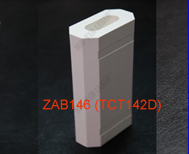 142mm ZAB146 (TCT142D) Dual-lamp & Single Rod 1064nm YAG Laser Marking Machine Laser Ceramic Reflector Cavity free shipping 1064nm laser protective glasses for workplace of nd yag laser marking and cutting machine supreme quality