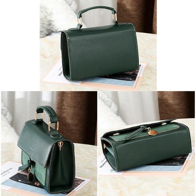 REPRCLA New Luxury Women Leather Handbag High Quality PU Shoulder Bag Brand Designer Crossbody Bags Small Fashion Ladies Bags 5