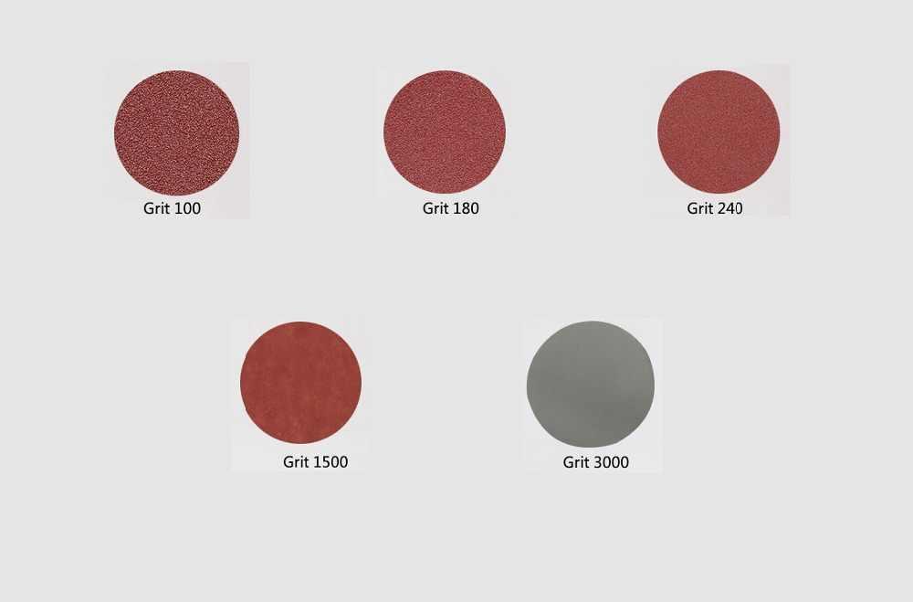 """100 pièces 25mm disques de ponçage de haute qualité + 1 """"abrasifs crochet et boucle plaque d'appui + 1/8 pouces tige ensemble pour outils de polissage"""