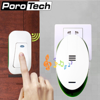 S V89 AC 220V Wireless Home Dingdong Ring Doorbell 32 Melodies 1 Plug In Receiver 1