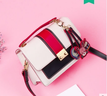цены на Princess sweet lolita bag Fashion trend ramp women Korean version single shoulder bag color bump all match handbag DLM002 в интернет-магазинах