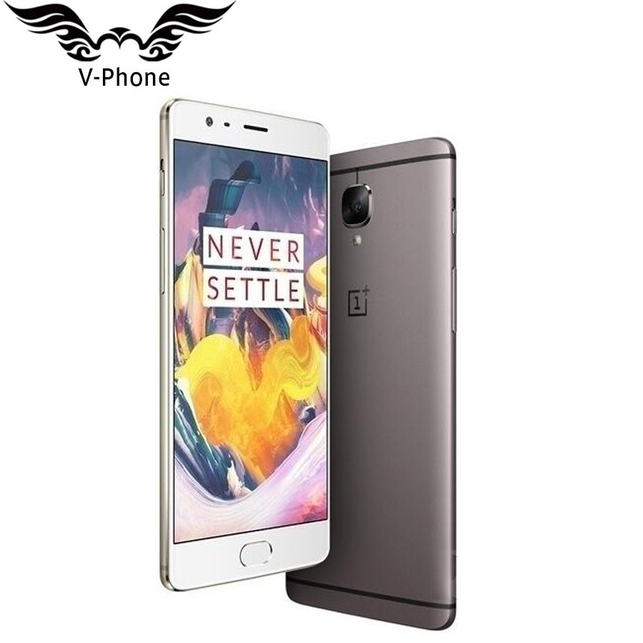 International Firmware Nouveau OnePlus 3 T A3010 Smartphone 6 GB RAM 64 GB ROM 5.5 FHD Android Snapdragon 821 NFC Oneplus téléphone portable
