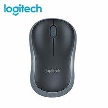 43be2ba5e4a Original Box Logitech M185 Mouse 2.4G Wireless Mouse Laptop PC Computer Mice  With USB Nano