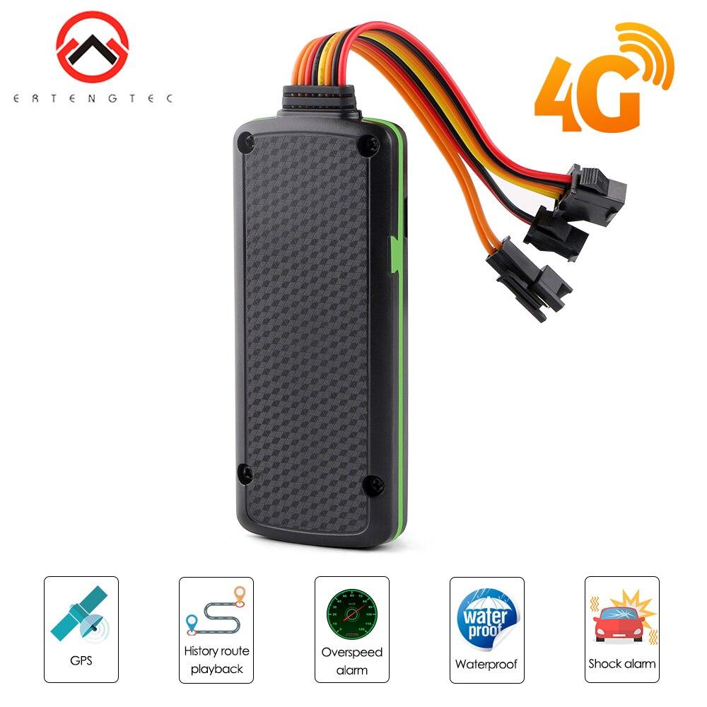 4G LTE GPS Carro Perseguidor Corte Óleo IP65 Alarme SOS Veículo Localizador GPS À Prova D' Água Movimento de Rastreamento Em Tempo Real Alarme Rastreador GPS трекер