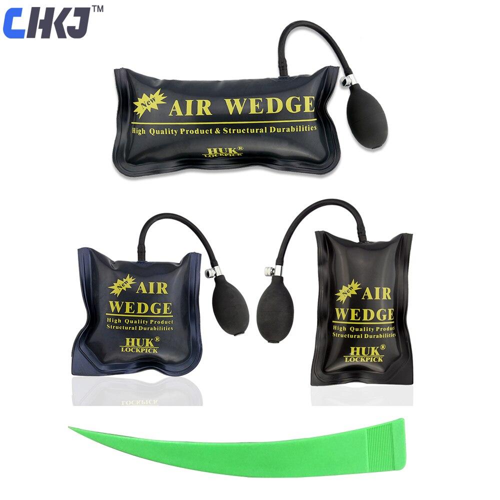 Chkj huk chaveiros ferramentas bomba cunha de ar ferramenta de entrada automática airbag aberto porta do carro janela bloqueio reparação amortecido shim mão ferramenta
