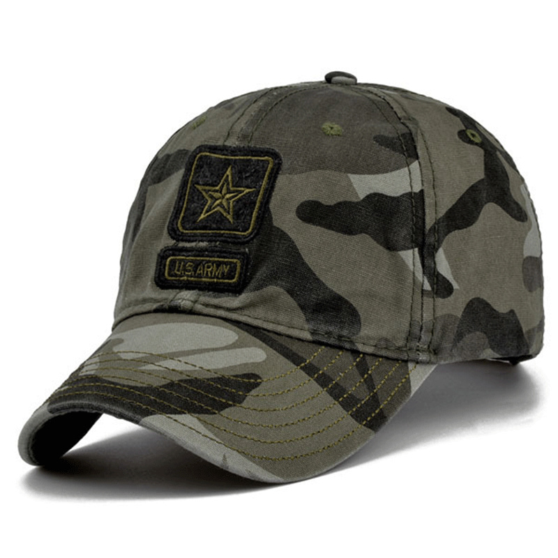 2018 High Quality Army   Cap   Camo   Baseball     Cap   Men Camouflage Snapback Tactical   Cap   Mens   Baseball     Caps   Gorra Snapbacks golf hats