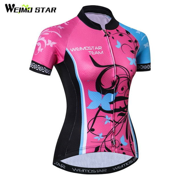 Weimostar 2018 Breathable Cycling Jersey Shirt Women Pro Team Racing Cycling  Clothing Quick Dry MTB Bike Jersey Maillot Ciclismo 1e8442d06