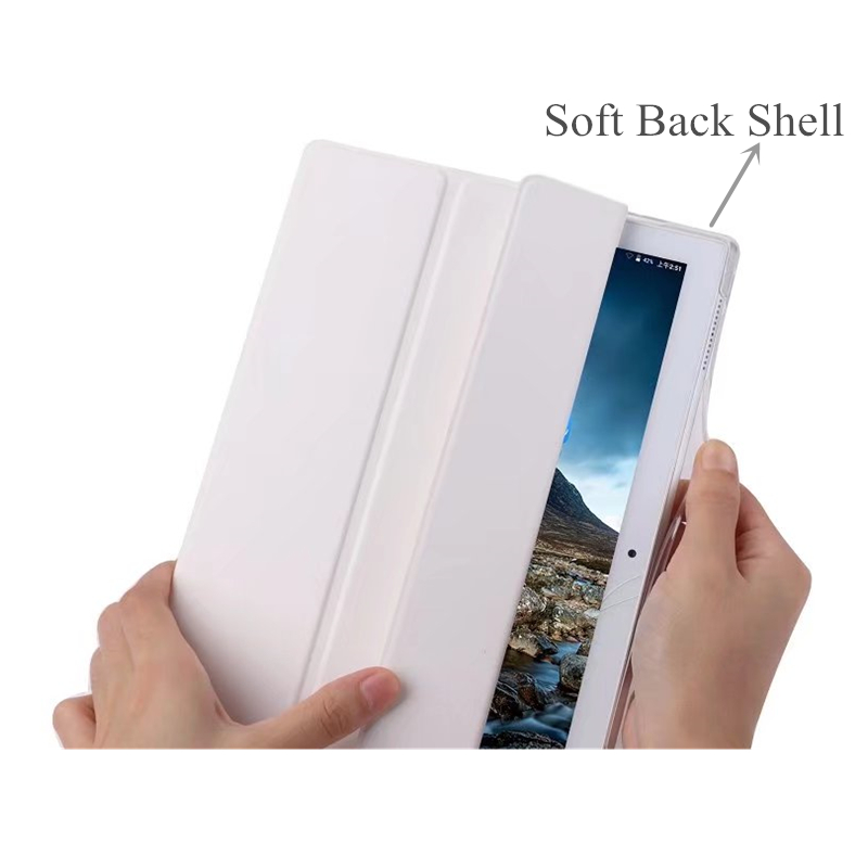 For Lenovo TAB4 10 Smart Cover Case for Lenovo TAB4 10 TB-X304L TB-X304F TB-X304N Folding Stand Tablet Case Soft Shell+Film