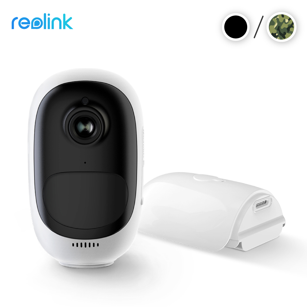 FREE SKIN Reolink Argus Pro Wire Free Security IP Camera 2MP Rechargeable Battery Powered Video