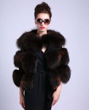Luxury Women's Fashion Fur Coat Real Fur Raccoon Dog Material Slim Style Leisure Time Shopping Occasion Sample Solid DS1001-1