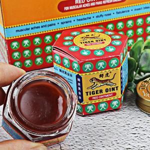Image 2 - 100% Original Rot Weiß Tiger Balm Salbe Thailand Painkiller Salbe Muscle Pain Relief Salbe Beruhigen juckreiz Ätherisches Balsam