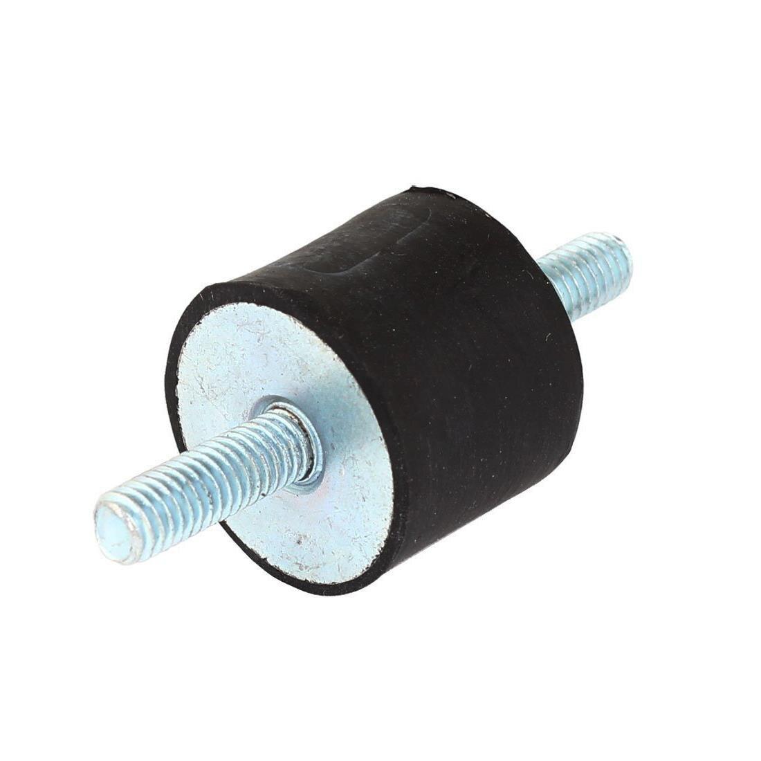 SEWS-amortiguador de goma/amortiguador de vibración, rosca macho M6, 25 mm x 20 mm