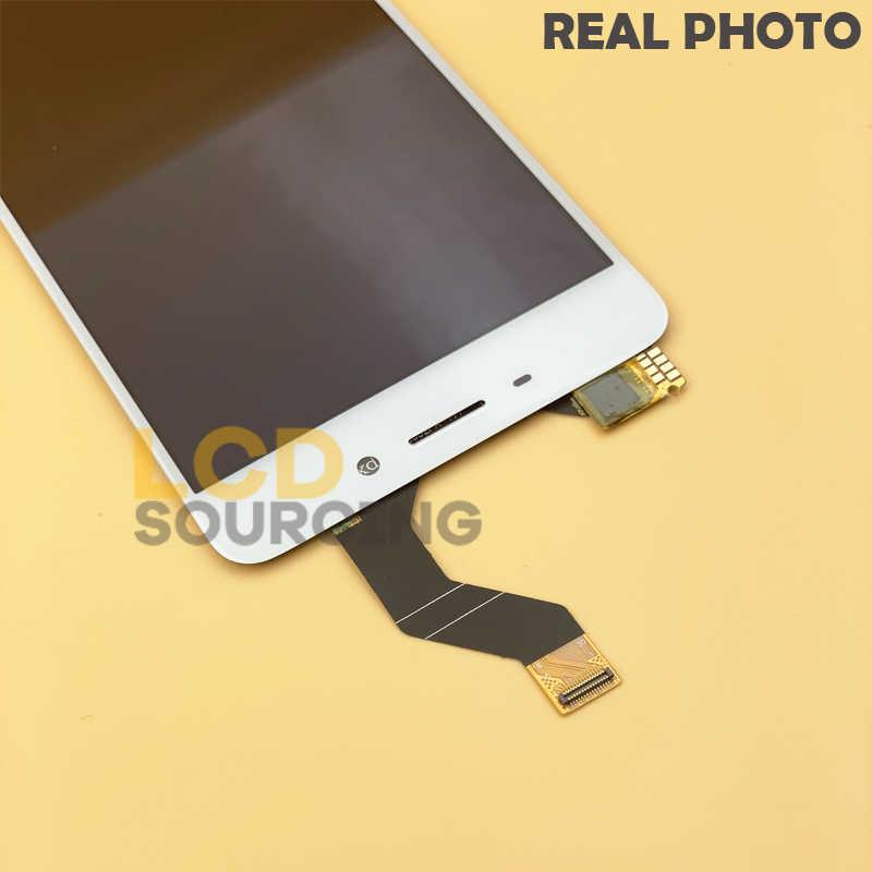"""5.5 """"شاشة الكريستال السائل ل MEIZU M6 ملاحظة شاشة LCD + الإطار محول رقمي يعمل باللمس الجمعية ل Meizu Meilan نوت 6 عرض استبدال"""