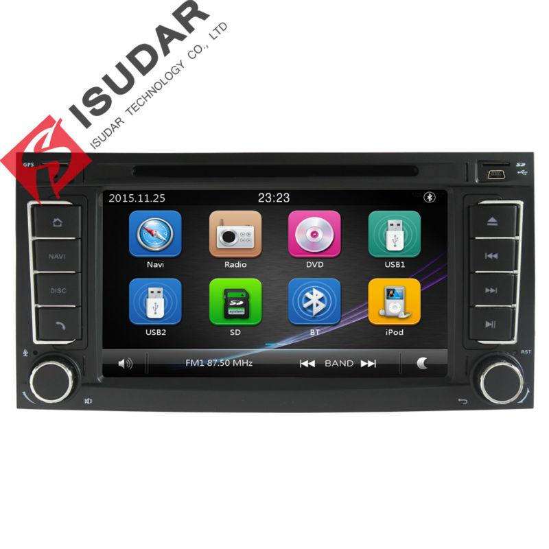 2 Din font b Car b font DVD Player For VW Volkswagen Touareg 2004 2011 With