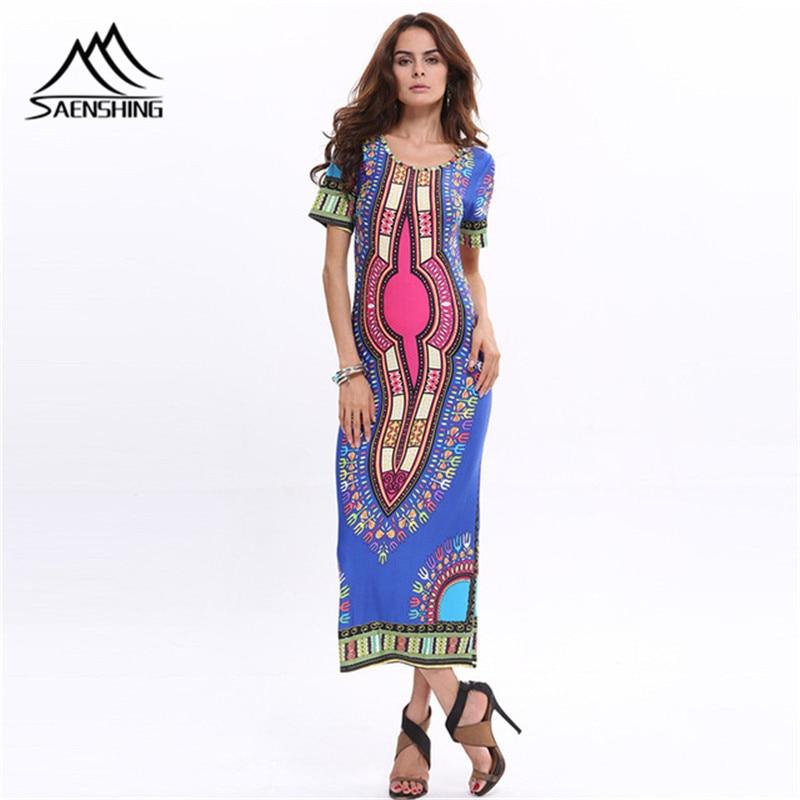 Sommer Afrikanischen Modedesign Dashiki Kleider für Frauen ...