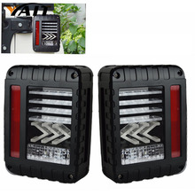 Yait 1 комплект хвост светильник s для Jeep Wrangler 2007- JK JKU с перерывом Резервное копирование светильник обратный поворотные парковочные сигнальные лампы в сборе
