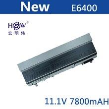 7800mAh Laptop Battery For Dell Latitude E6400 E6410 E6500 E6510 Precision M2400 M4400 M4500 M6400 M6500 1M215 312-0215