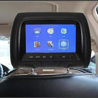 7 Inch Support Built In Speaker Headrest Monitor Car Universal LED Screen Video