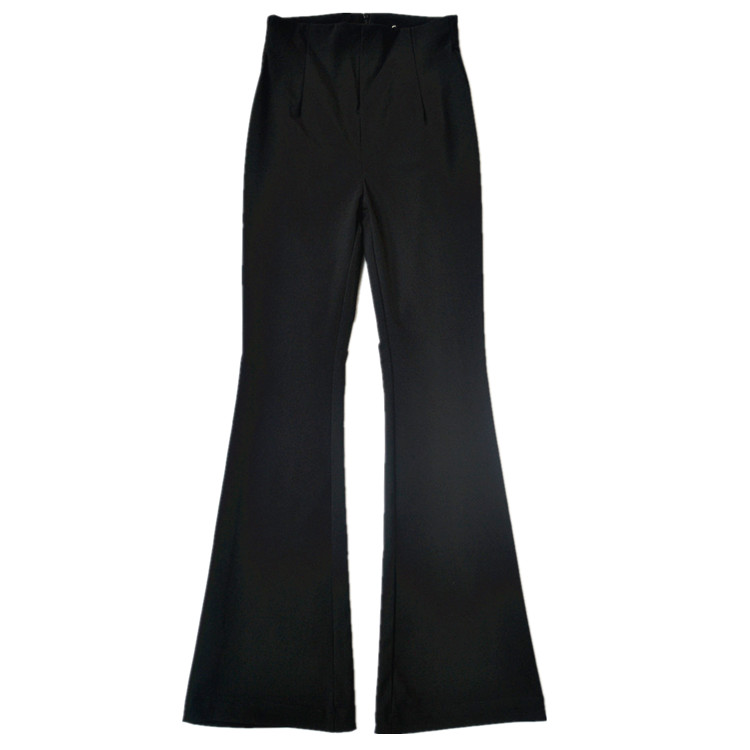 Longer Size Can fit 160cm -200cm height flare pants 2018 new Fashion brand England style Elastic was thin flare trousers WQ08