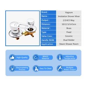 Image 3 - 2/3/4/5 yollu duş anahtarı kontrol pirinç duş musluk mikser duş kabini aksesuarları duş vana saptırıcı musluk