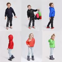 Fashion 90% duck feather Ultra light Boys Girls children's Autumn Winter jackets Baby down coat Jackets outerwear