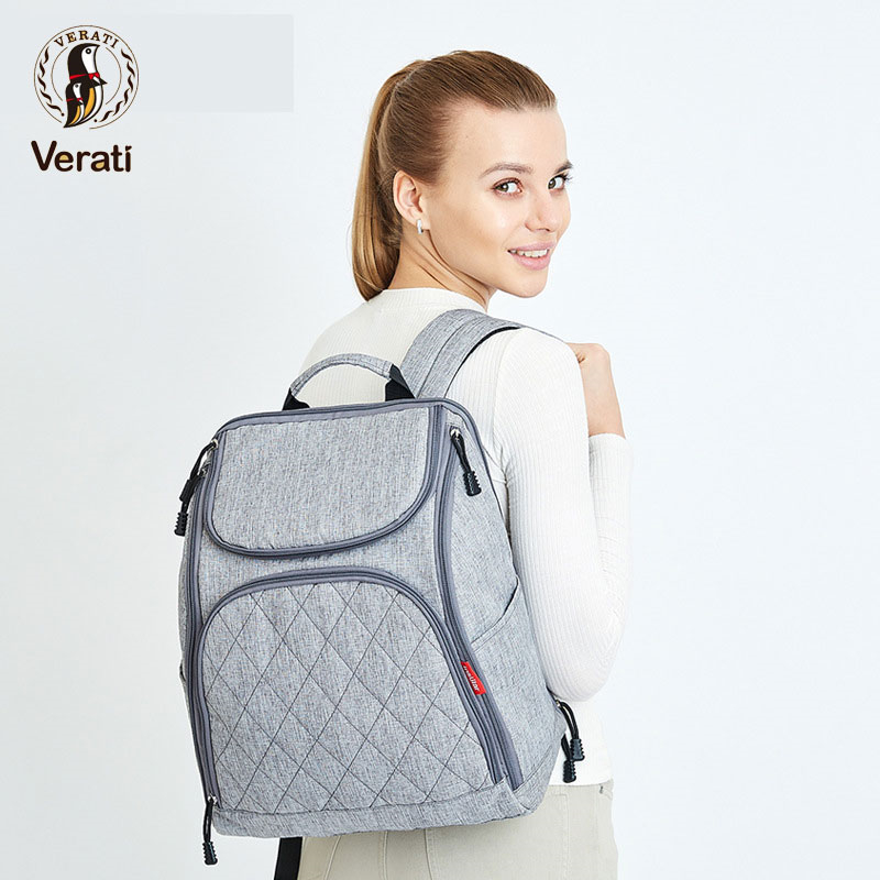 VERATI 2018 Multi-function Shoulder Diaper Backpack Outing Package Mummy Bag Portable Trailer Baby Bag Large Capacity V133