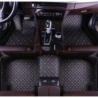 Автомобильные коврики для BMW Mini Coopers Clubman Countryman Paceman один автомобиль стиль кожа Коврики линованные коврики