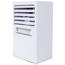 купить Air Conditioner Fan,Air Personal Space Cooler Small Desktop Fan Quiet Personal Table Fan Mini Evaporative Air Circulator Coole онлайн