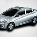 free shipping 304 stainless steel car window chrome trim for hyundai accent blue solaris Fluidic Verna  Grand Avega  2010-2017