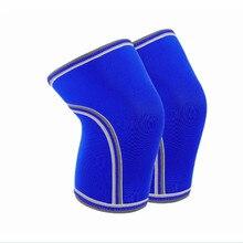 Manufacturers weightlifting knee 7mm sleeves neoprene