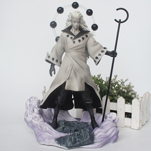 28CM Anime Naruto GK Uchiha Madara Rikudou sennin Ver. Action Figures PVC Collection Model Toys action figures toys kunkka lina pudge queen tidehunter cm fv pvc action figures collection dota2 toys