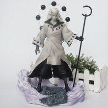 28CM Anime Naruto GK Uchiha Madara Rikudou sennin Ver. Figurines en PVC Collection modèle jouets