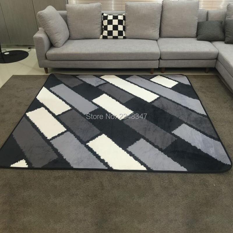 Мода сучасний геометричний сірий - Домашній текстиль