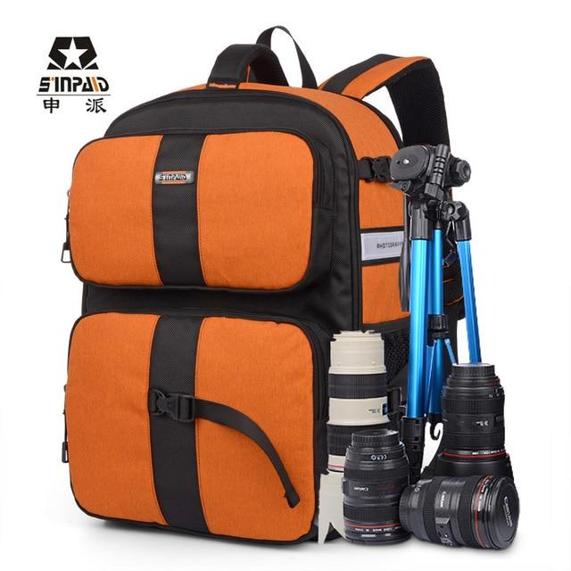 Forderung Ausgefallene Elegante Kamera Laptop Rucksack Taschen