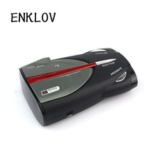 ENKLOV XRS9880 Radar Detector Car Mobile Speed English Russian Mobile Electronic Dog Detector De Radar