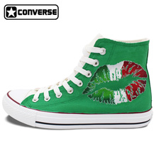 Womens Mens Converse Chuck Taylor Man Woman Shoes Italy Flag Original Design Custom Hand Painted Canvas Sneakers